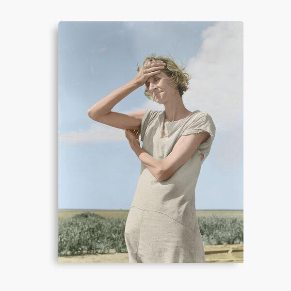 Dorothea Lange Metal Print