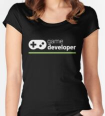 Game Developer Women's Fitted Scoop T-Shirt