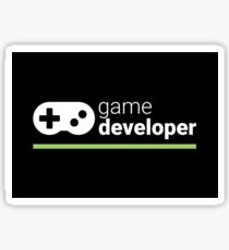 Game Developer Sticker