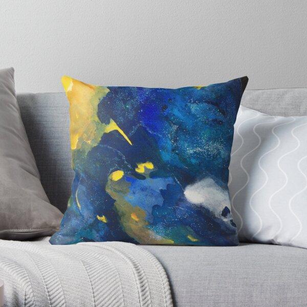 Volcanic Ash  Throw Pillow