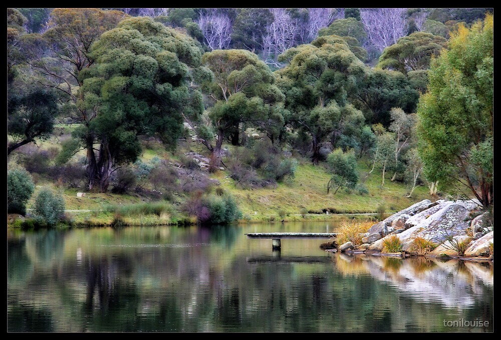 Lake Crackenback by tonilouise
