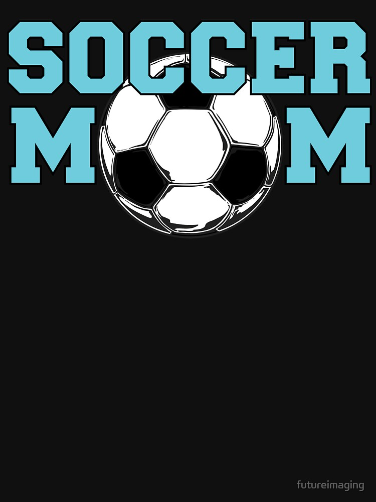 Soccer Mom - Blue text by futureimaging