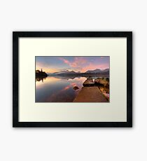 The Istimus Framed Print