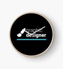 Graphic Designer Clock