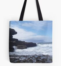 Sky, Rocks, Sea Tote Bag