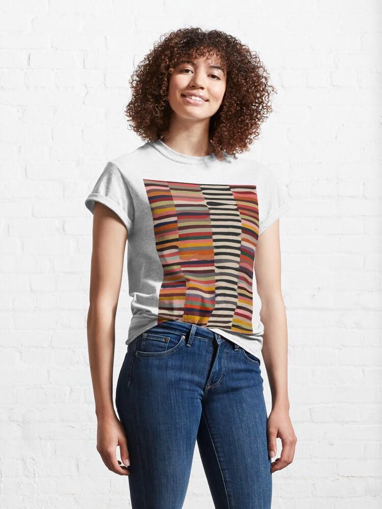 Alternate view of Etchnic Scandinavian Pattern Classic T-Shirt