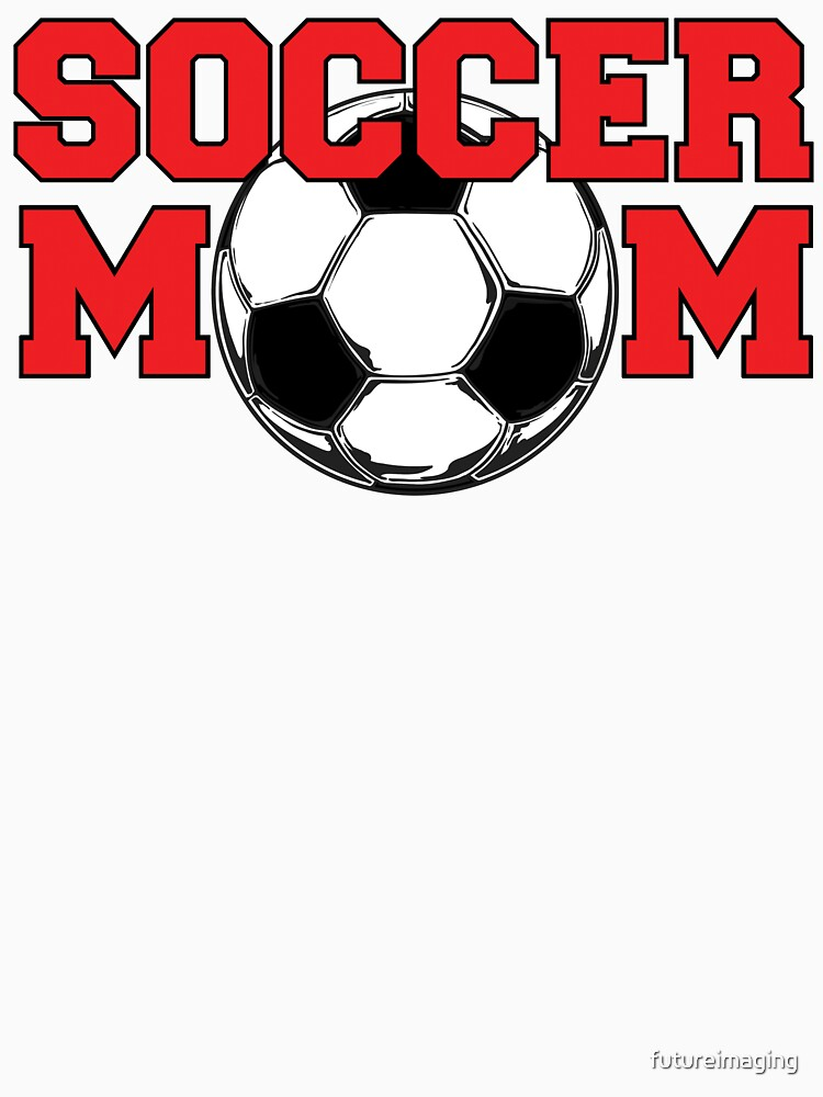 Soccer Mom - Red text by futureimaging