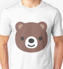 Bear face emoji T-Shirt