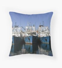 Blue reflections 11 Throw Pillow
