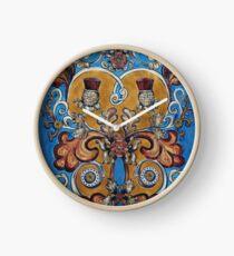 comlongon heraldry Clock