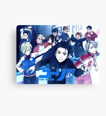 Yuri On Ice Canvas Print