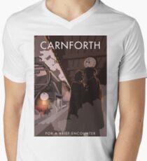 Brief Encounter Carnforth Station Men's V-Neck T-Shirt