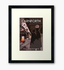 Brief Encounter Carnforth Station Framed Print