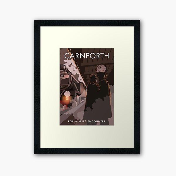 Brief Encounter Carnforth Station Framed Art Print