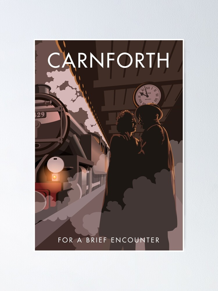 Alternate view of Brief Encounter Carnforth Station Poster