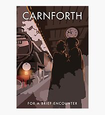 Brief Encounter Carnforth Station Photographic Print