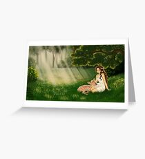 Glade Greeting Card