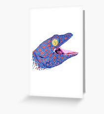 Tokay Gecko Greeting Card