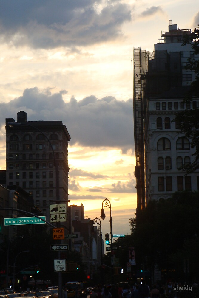 SUNSET NYC by sheidy