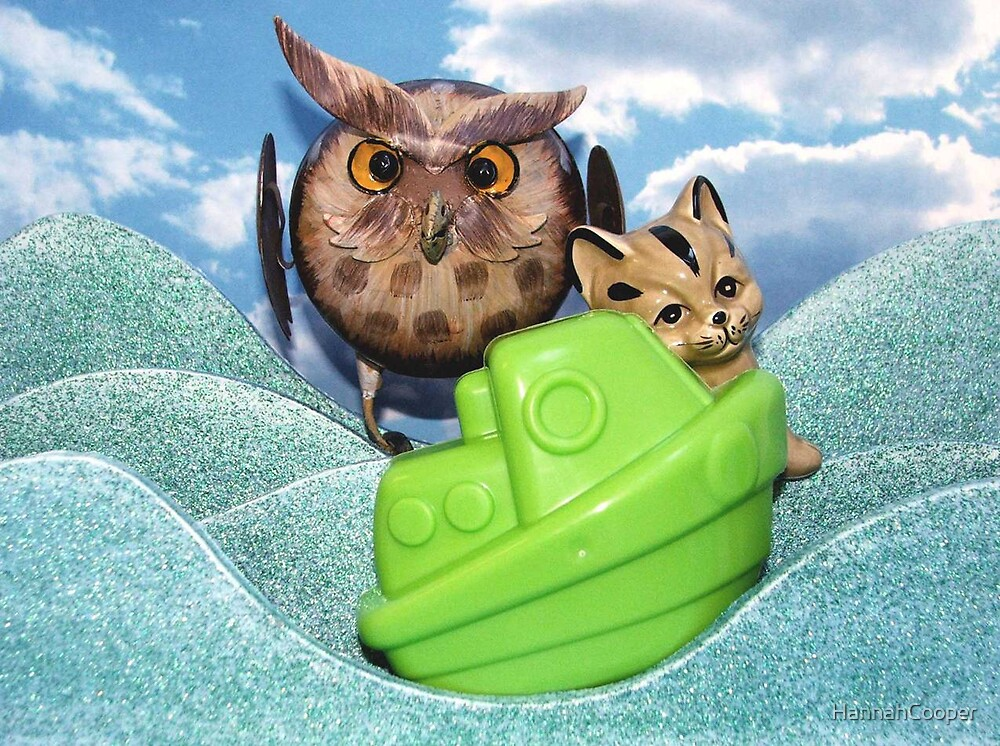 The Owl and the Pussy Cat. by HannahCooper