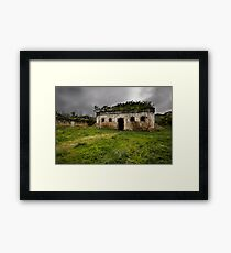 Gaol House Framed Print