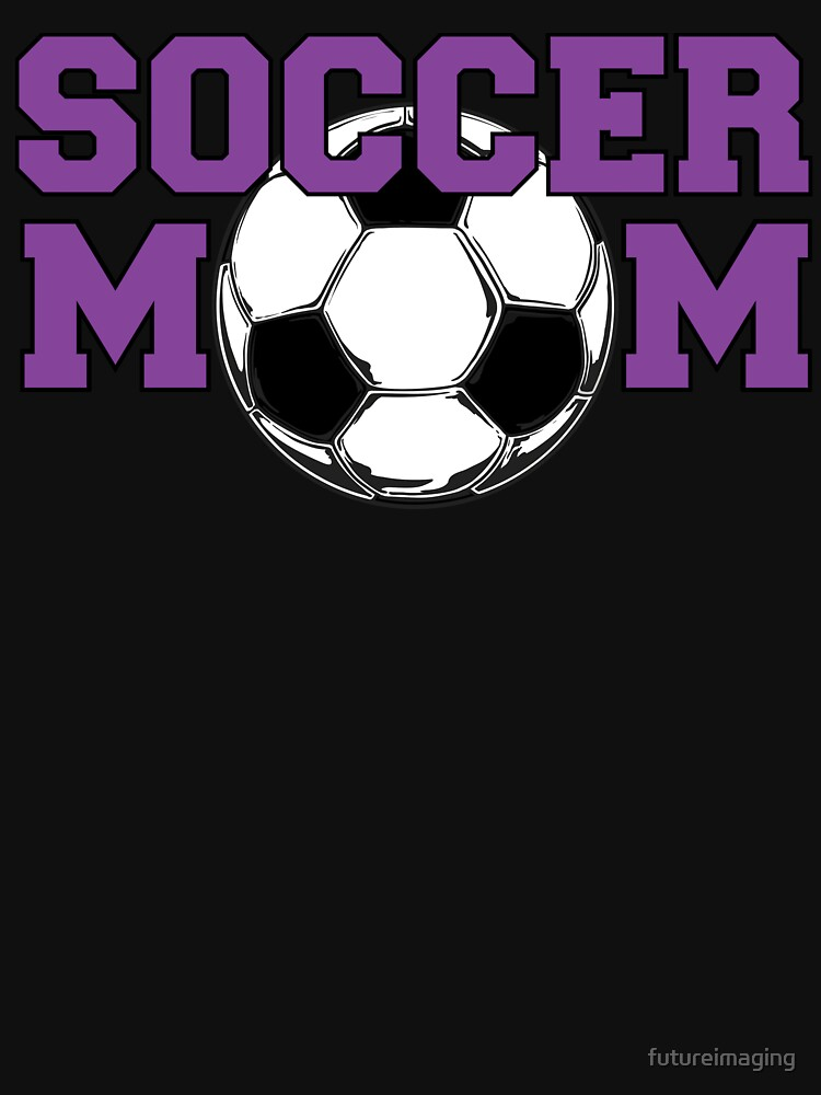 Soccer Mom in Purple by futureimaging