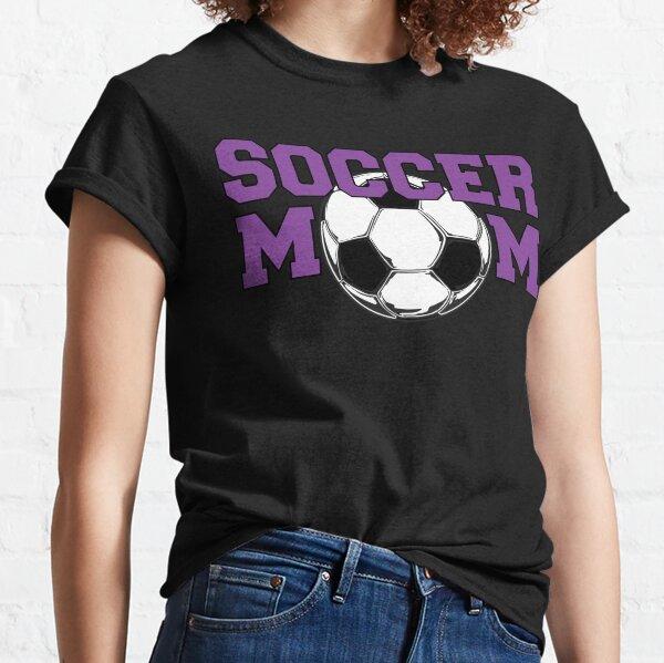 Soccer Mom in Purple Classic T-Shirt