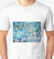 SKULL MANDALAS - WHITE Unisex T-Shirt