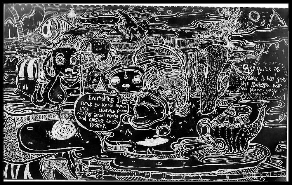 Salty Brains by BRoCK ALSoP
