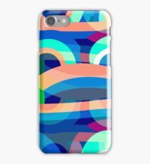 Marine abstraction iPhone Case/Skin