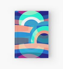 Marine abstraction Hardcover Journal