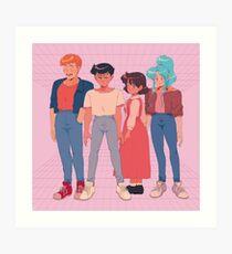 YU YU PRINT Art Print