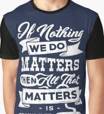 Vampire Philosophy Graphic T-Shirt