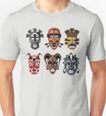 Tribal Masks Unisex T-Shirt