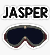 Jasper Jordan Sticker