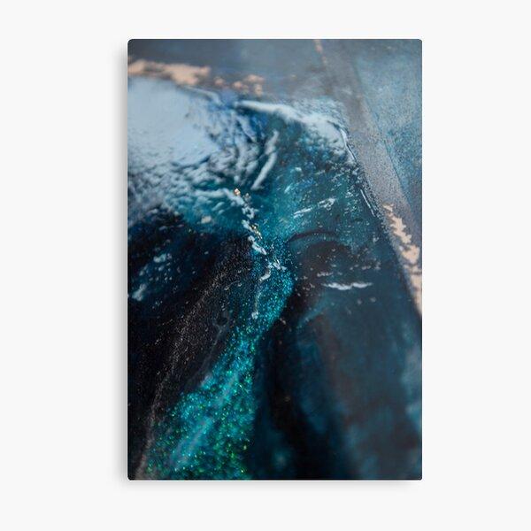 Sea ice Metal Print