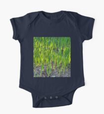 Morning Grass One Piece - Short Sleeve