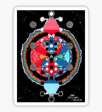 Holographic Universe by Lakey Sticker