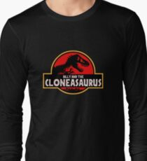 Billy and the Cloneasaurus Simpsons Long Sleeve T-Shirt