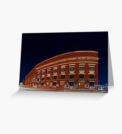 Old Fremantle Woolstores Building (Multi Row Panorama)  Greeting Card