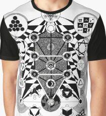 Kabbalah Tree of Life & Correspondences Graphic T-Shirt