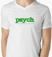 Psych Men's V-Neck T-Shirt