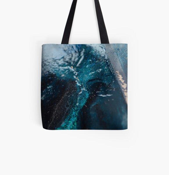 Sea ice All Over Print Tote Bag