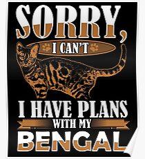 Bengal Cat Poster