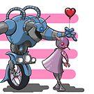 Love, True Robot Love by grosvenordesign