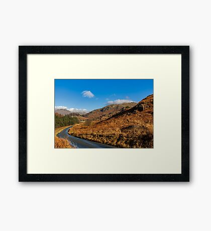 Duddon Valley Road Framed Print