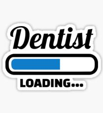 Dentist loading Sticker