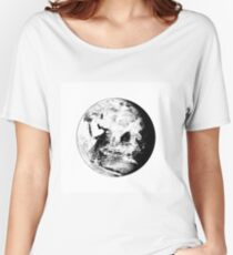 Earth Globe Women's Relaxed Fit T-Shirt