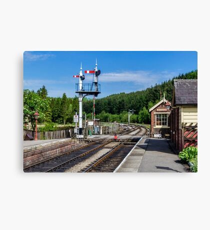 Levisham Station Canvas Print