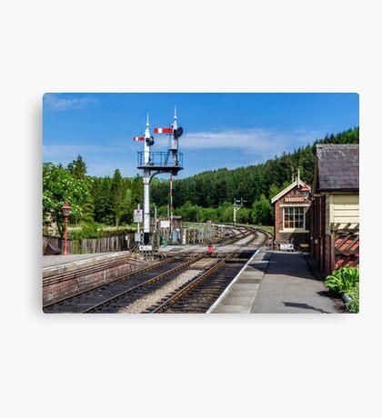 Levisham Station Canvas Print